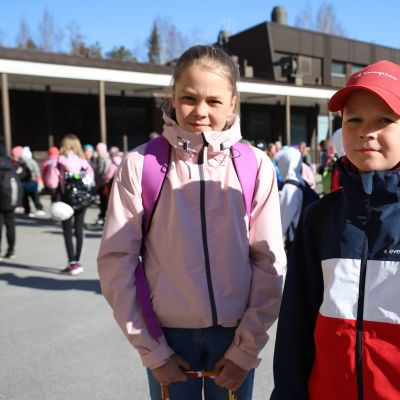 Lähiopetus alkoi Ahonkylän koulussa Ilmajoella