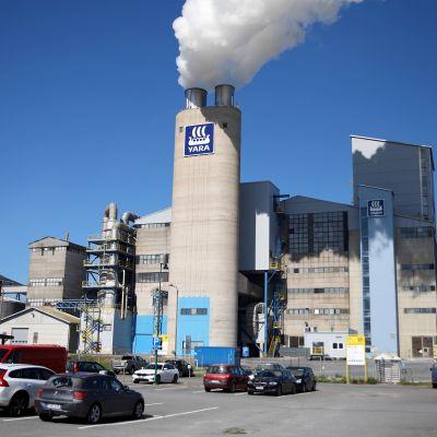 Yaran tehdas Uudessakaupungissa