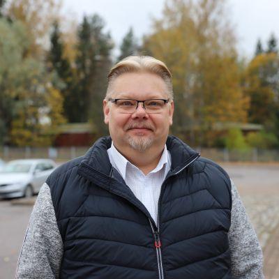Perussuomalaisten kansanedustaja Jari Ronkainen