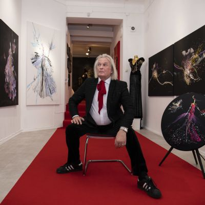 Jukka Rintalan taidenäyttely galleria ARS Longassa.