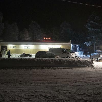 Metsurin tarina -elokuvan kuvauspaikka esittää kainuulaista baaria.