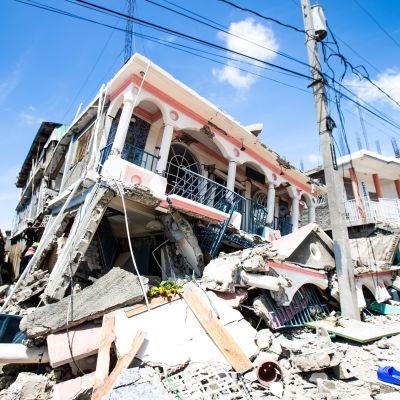 Jordskalv på Haiti