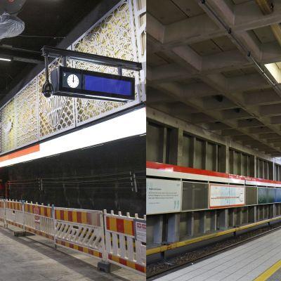 Länsimetro saa upouusia asemia, vanhat asemat idässä kaipaavat kipeästi korjausta