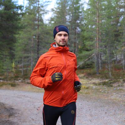 Antti Itkonen käy yleensä lenkillä aamuvarhaisella
