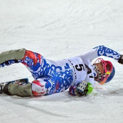 sport, slalom, utförsåkning