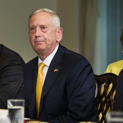 USA:s försvarsminister James Mattis