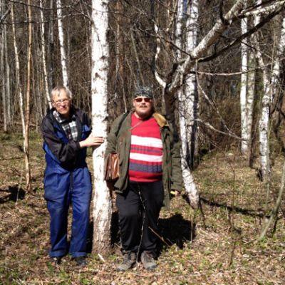 Heikki Niinimäki ja Esa-Pekka Karvinen.