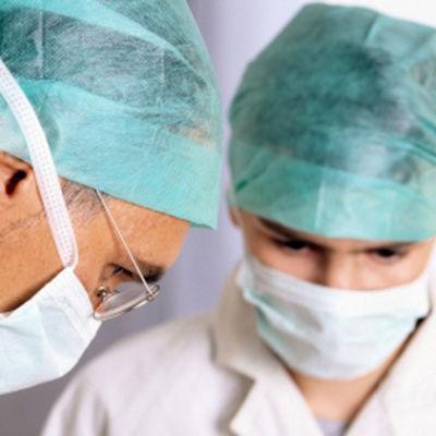 Operationsläkare.