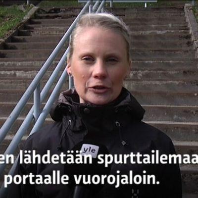 Yle Uutiset Kaakkois-Suomi: Porrastreeni vahvistaa jalkoja ja lisää kimmoisuutta