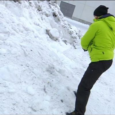 Yle Uutiset Itä-Suomi: Personal trainer: Lumen luonti on parasta hyötyliikuntaa