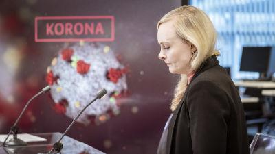 Sisäministeri Maria Ohisalo