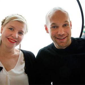 Anna Tulusto ja Aleksis Salusjärvi