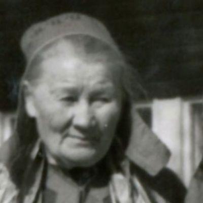 Katekeetta Anni Kitti Inarista.
