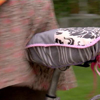 Sadelskydd till cykel