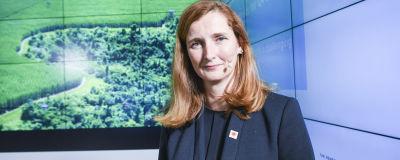 Annica Bresky, vd för Stora Enso.