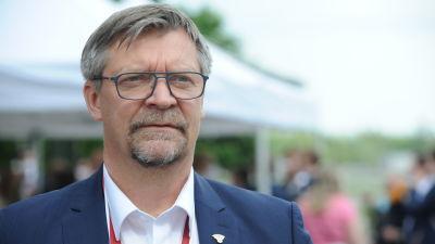 Jukka Jalonen intervjuas.