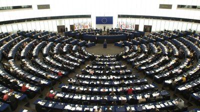 Europarlamentet i Strasbourg,