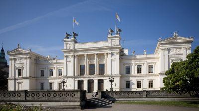 Huvudbyggnaden vid Lunds universitet
