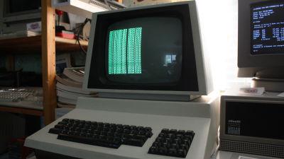 Commodore PET, Chuck Peddlen suunnittelema Commodoren ensimmäinen tietokone.