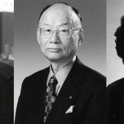 William C. Campbell, Satoshi Omura ja Youyou Tu.