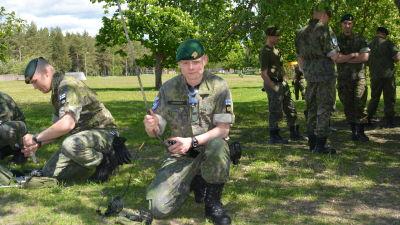 underlöjtnant Kim Lindqvist