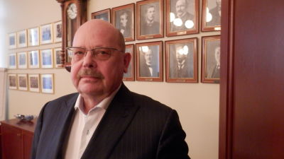 Stadsstyrelsens ordförande i Jakobstad, Peter Boström (SFP)