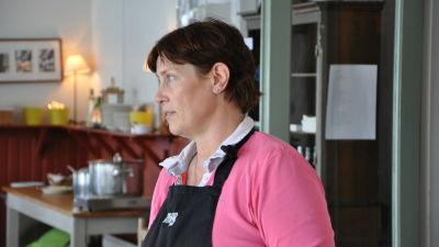 Eva Johansson på Pensar syd.