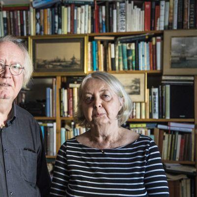 Stig-Björn ja Irja ovat pitäneet yhtä jo viidenkymmenen vuoden ajan.