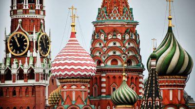 Vy av Kreml den 19 september 2021.