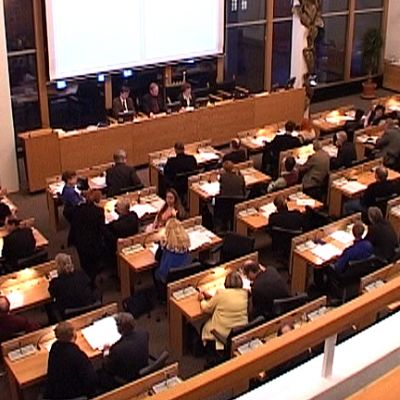 Tampereen kaupunginvaltuuston kokous käynnissä