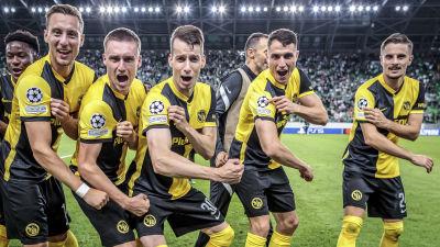 Young Boys klart för Champions League.