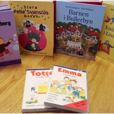 Astrid Lindgrens och Gösta Knutssons böcker var mina favoriter när jag var barn och jag tycker ännu om dem idag.