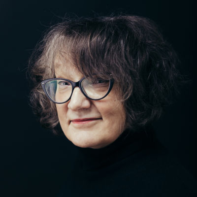 Författaren Monika Fagerholm.