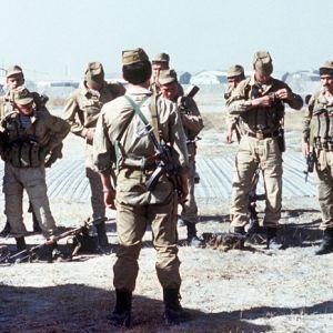 Sojvetisk Spetsnaz-GRU-enhet i Afghanistan 1988