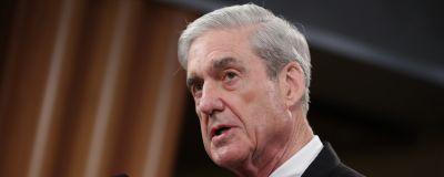 Robert Mueller vid en presskonferens 29 maj 2019.
