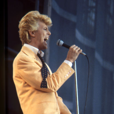 David Bowie Serious Moonlight -kiertueella Göteborgissa 11-12.6.1983.