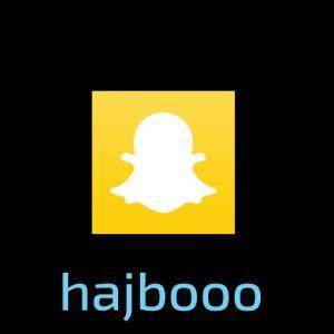 Hajbos logo och Hajbos profilnick @hajbooo