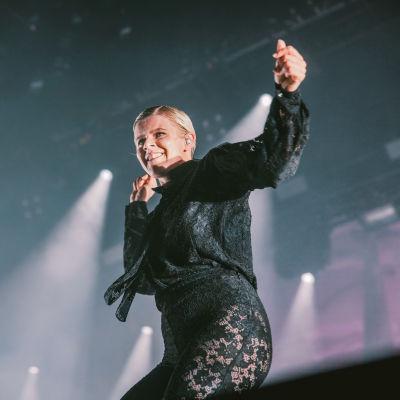 Ruotsalaistähti Robyn esiintyi Flow'ssa vuonna 2019.