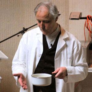 Hervé This, en av pionjärerna inom molekylär gastronomi.