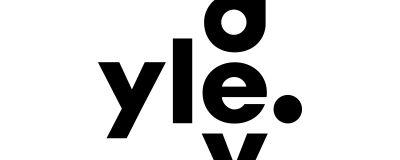 Yle.devin mustavalkoinen logo