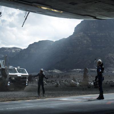 Kuva elokuvasta Prometheus.