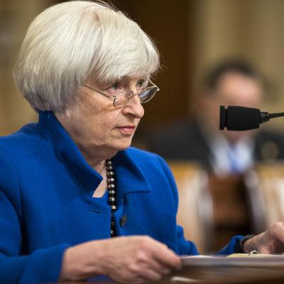 Janet Yellen, ordförande för den amerikanska centralbanken