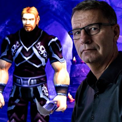 Peter Steen och Mats avatar Lord Ibelin