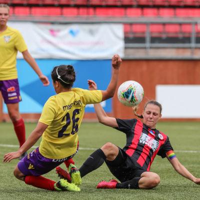 Åland United spelar mot PK-35 Vanda.