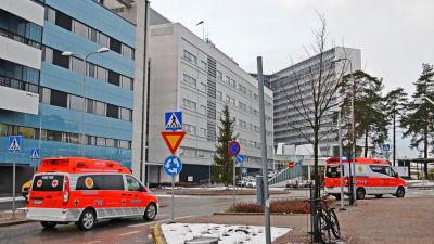 Mejlans sjukhusområde, februari 2016