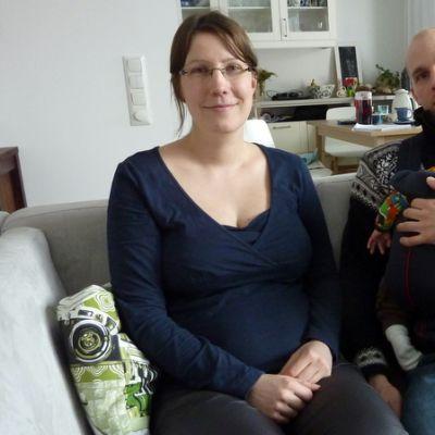 Anna Tornivaara, Janne Hokka ja Peik-vauva.