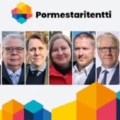 Kuvassa ovat Tampereen kuntavaalien 2021 pormestariehdokkaat.