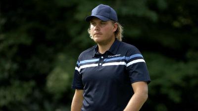 Sami Välimäki på golfbanan.