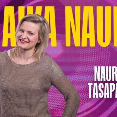Naurun tasapaino 2015 kilpailija Helena Pöllänen