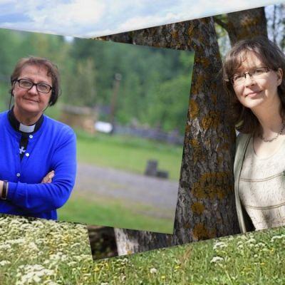 Armi Rautavuori ja Pauliina Kainulainen.